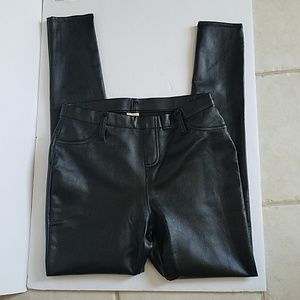Pleather Jeggings Size Small 4-6